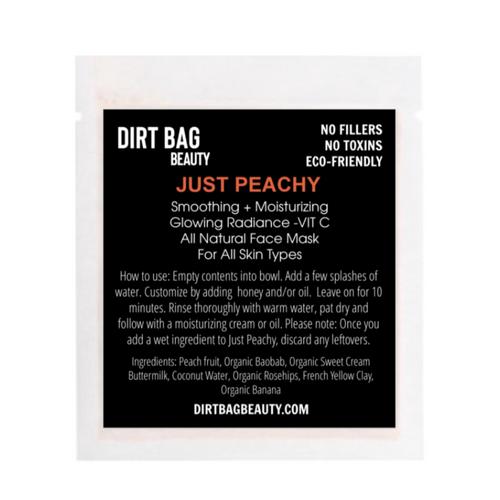 dirt bag face mask JUST PEACHY