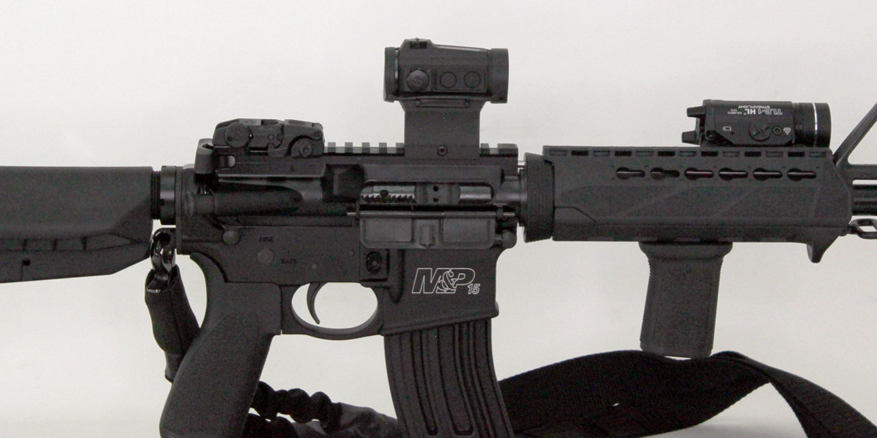 Smith and Wesson M&P Sport II Ar-15 - BCM Gunfighter kit