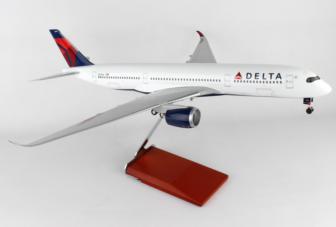 Skymarks Delta Airbus A350 Scale 1/100 SKR8803