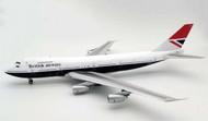 ARD200 British Airways Boeing 747-200 G-BDXH With Stand and Coin Scale 1/200 ARDBA03