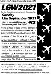 News of LGW2021 at Gatwick
