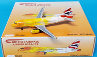 Two more authorised BA models Scale 1/400