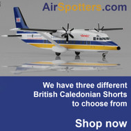 British Caledonian Shorts models now available in a scale of 1/200