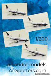 Landor British Airways Boeing 737-200 extravaganza.