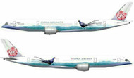 INFLIGHT 200 CHINA AIRLINES A350XWB B-18901 WITH STAND & NEW GEAR SCALE 1/200