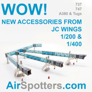 JC Wings NEW accessories in 1/200 and 1/400