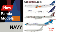 New Panda models now listed at Airspotters.com