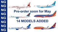 NEW NG Models ready for Pre-order