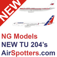 NEW NG Models listed for July 2021 including the NEW TU204