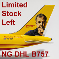 Clarkson and May Boeing 757's