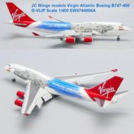 JC Wings models Virgin Atlantic Boeing B747-400 G-VLIP Scale 1/400 EW4744006A