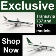 Exclusive Transavia models from Aviation Megastore