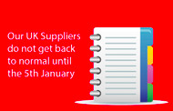 UK Suppliers information