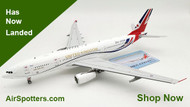 Royal Air Force Voyager A330 United Kingdom Fly the Flag ZZ336 Scale 1/200