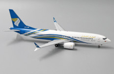 JC Wings Oman Air Boeing 737max A4O-MB with stand Scale 1/200 JCLH2123