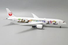 JC Wings  JAL Japan Airlines Hawaiian Livery Boeing 787-9 JA873J with stand Scale 1/200 JCEW2789005