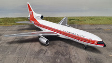 Inflight 200 Demonstrator L1011 Tristar N1011 50th Anniversary Coin with stand Scale 1/200 IFL101150