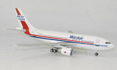 Inflight 200 Wardair Canada Airbus A310-300 C-GIWD with stand Scale 1/200 IF310WD0720