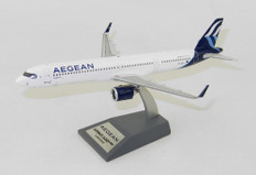 Inflight 200 Aegean Airlines Airbus A321 neo SX-NAA with stand Scale 1/200 IF321NA30820