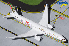 Gemini Jets Gulf Air 70th Anniversary Boeing 787-9 A9C-FG Scale 1/400 GJGFA1909