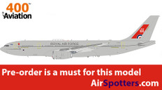 Aviation 400 Airbus A330 Voyager 100 Years RAF ZZ336  with stand Scale 1/400 AV4MRTT05