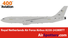 Aviation 400 Royal Netherlands Air Force Airbus A330-243MRTT with stand Scale 1/400 AV4MRTT07