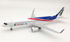 Inflight 200 MEA Middle East Airlines Airbus A321neo T7-ME1 with stand Scale 1/200 IF321NME1020
