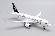 JC Wings Lufthansa Star Alliance Airbus A320 D-AIUA with stand Scale 1/200 JCEW2320012