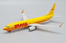 JC Wings DHL Boeing 737-800BDSF N916SC with stand Scale 1/200 JCEW2738013