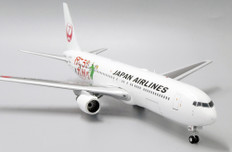 JC Wings JAL 'Visit Kyushu' Boeing 767-300ER JA656J with stand Scale 1/200 JCEW2763002