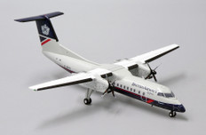 JC Wings British Airways DHC-8-Q300 G-BRYJ with stand Scale 1/200 JC2278