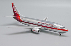 JC Wings House colours Farnborough 1984 Boeing 737-300 N352AU with stand Scale 1/200 JC20050