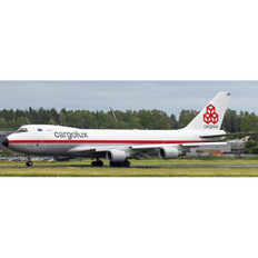JC Wings Retro Cargolux Boeing 747-400F (ER) LX-NCL with stand Scale 1/200 JC20051C