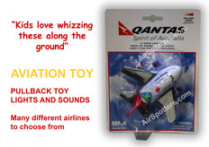 Qantas fun plane with lights and sound ages 3 plus TT928