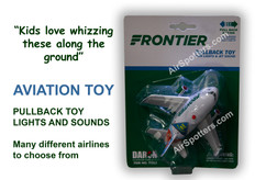 Frontier fun plane with lights and sound TT322