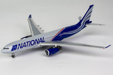 NG Models National Airlines  Airbus A330-200 N819CA Scale 1/400 61023