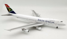 J Fox Models SAA South African Airways Boeing 747- 244B ZS-SAL Scale 1/200  JF7472016