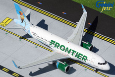 Gemini 200 Frontier Flower the Hummingbird Airbus A320neo N318FR Scale 1/200 G2FFT897