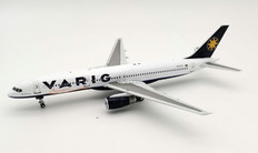 Inflight 200 Varig Boeing 757-256 PP-VTT with stand Scale 1/200 IF752VG1220