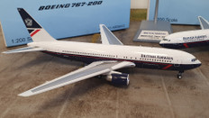 ARD200 British Airways Landor Boeing 767-200 N655US With Stand Scale 1/200 ARDBA12