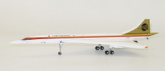 Inflight 200 Continental Concorde N557CO with stand Scale 1/200 IFCONC0817