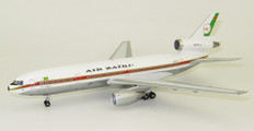 Inflight 200 Air Zaire McDonnell Douglas DC-10-30 9Q-CLT Polished with stand Scale 1/200 IFDC10QC0919P