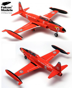 Falcon models T-33A T-Bird Red Knight  Acrobatic Team Royal Canadian Air Force 1960s Scale 1/72 FM722023