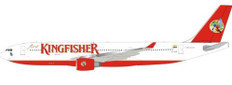 Inflight 200 Kingfisher Airbus A330-200 VT-AJP with stand Scale 1/200 IF332IT0121