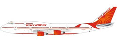Inflight 200 Air India Boeing 747-400 VT-EVB with stand Scale 1/200 IF744AI0121