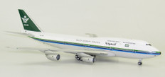 Inflight 200 Saudi Boeing 747-368 HZ-AIR with stand Scale 1/200 IF743SV0718