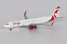 NG models Air Canada Rouge Airbus A321-200 C-GHQI Scale 1/400 NG13020