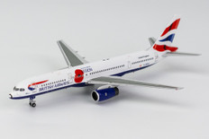 NG models British Airways Pause To Remember Boeing 757-200 G-BPEK Scale 1/400 NG53158