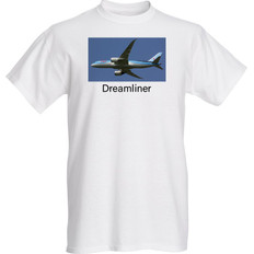 Dreamliner T-Shirts Sizes M L XL