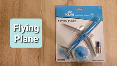 Premier Portfolio KLM Flying Plane 21cm long